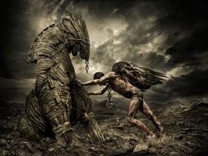 Trojan Horse www.zastavki.com