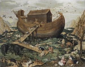 Noah's Ark on Mount Ararat by Simon de Myle